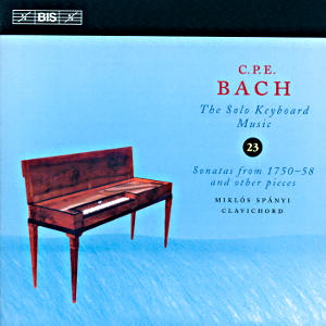 C.P.E. Bach<br />Solo Keyboard Music Vol. 23