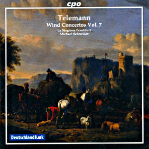 Georg Phillipp Telemann, Wind Concertos Vol. 7 / cpo