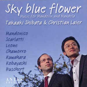 Sky blue flower Music for Mandolin and Mandola / Antes