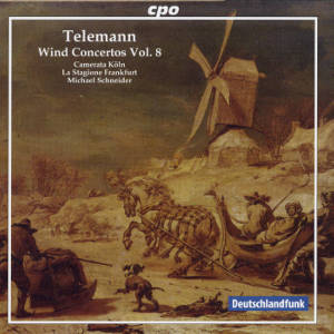 Georg Philipp Telemann, Wind Concertos Vol. 8 / cpo
