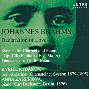 Johannes Brahms<br />Declaration of Love