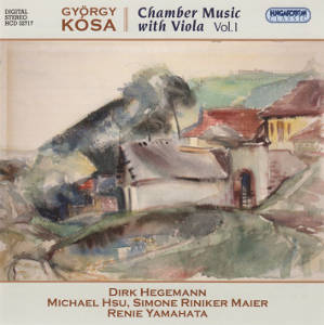 György Kósa, Chamber music with viola Vol. 1 / Hungaroton