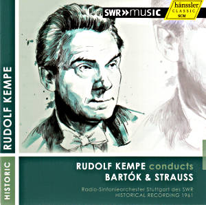 Rudolf Kempe conducts Bartók & Strauss / SWRmusic