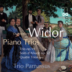 Charles-Marie Widor<br />Complete Piano Trios