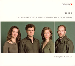 Green<br />String Quartets by Robert Schumann and György Kurtág