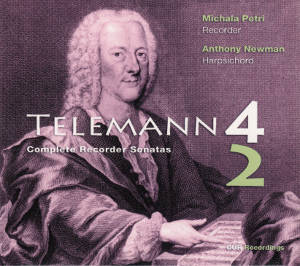 Telemann, Complete Recorder Sonatas / OUR Recordings