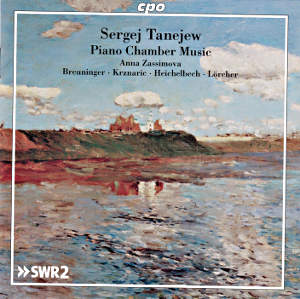 Sergej Tanejew, Piano Chamber Music / cpo