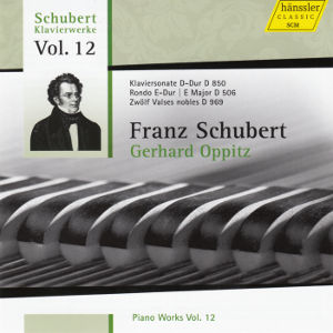 Franz Schubert<br />Piano Works Vol. 12