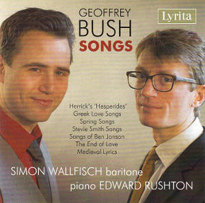 Geoffrey Bush, Songs / Lyrita