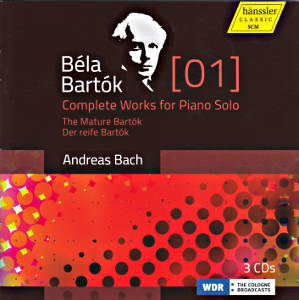Béla Bartók, Complete Works for Piano Solo / hänssler CLASSIC