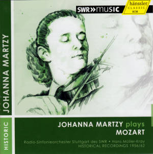 Johanna Martzy plays Mozart