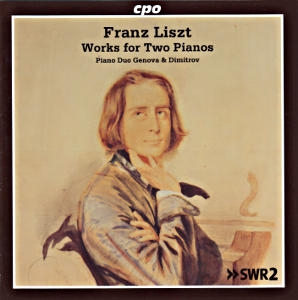 Franz Liszt<br />Works for Two Pianos