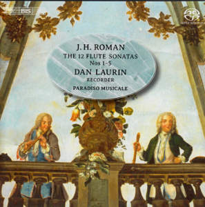 Johann Helmich Roman, Sonatas for Flute and Basso Continuo / BIS