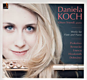 Works for Flute and Piano, Daniela Koch / indé sens