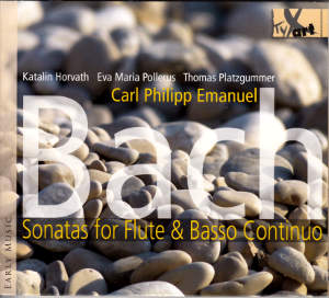 Carl Philipp Emanuel Bach, Sonatas for Flute & Basso Continuo / TYXart