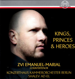 Kings, Princes & Heroes, Opera Arias of Händel, Gluck and Mozart / Thorofon