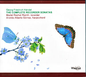 Georg Friedrich Händel, The Complete Recorder Sonatas / Vanitas