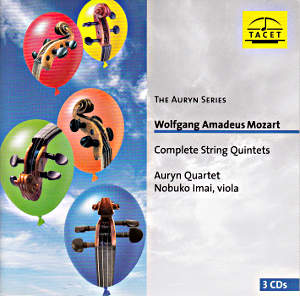 Wolfgang Amadeus Mozart, Complete String Quintets / Tacet