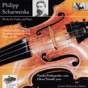 Philipp Scharwenka, Works for Violin and Piano / TYXart