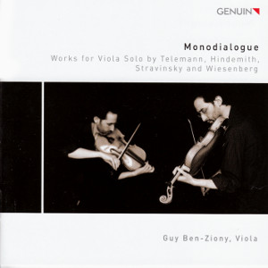 Monodialogue, Works for Viola Solo by Telemann, Hindemith, Stravinsky and Wiesenberg / Genuin