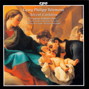 Georg Philipp Telemann, Advent Cantatas / cpo