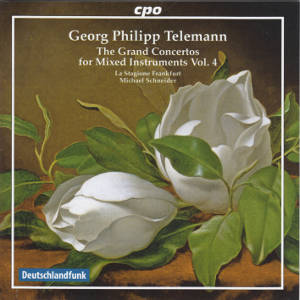 Georg Philipp Telemann, The Grand Concertos for Mixed Instruments Vol. 4 / cpo