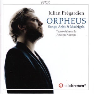 Orpheus, Songs, Arias & Madrigals from the 17th century / cpo