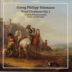 Georg Philipp Telemann, Wind Overtures Vol. 1 / cpo