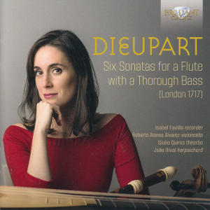 Dieupart, Six Sonatas for a Flute with a Thorough Bass / Brilliant Classics