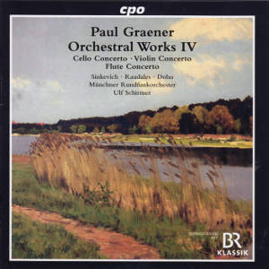 Paul Graener, Orchestral Works IV / cpo