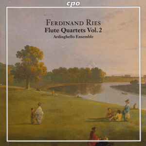 Ferdinand Ries, Complete Chamber Music for Flute & String Trio Vol. 2 / cpo