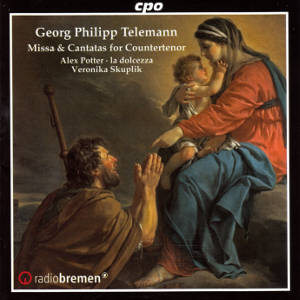 Georg Philipp Telemann, Missa & Cantatas for Countertenor / cpo
