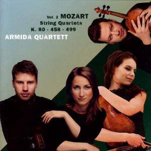 Mozart Strings Quartets Vol. 2, Armida Quartet / Avi-music