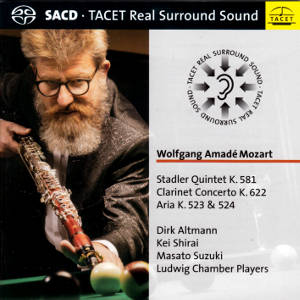 Wolfgang Amadé Mozart, Works for clarinet / Tacet
