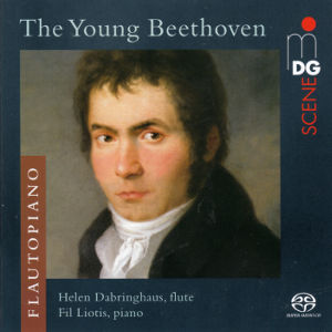 The Young Beethoven, Music for Flute and Piano / MDG