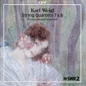 Karl Weigl, String Quartets 7 & 8 / cpo