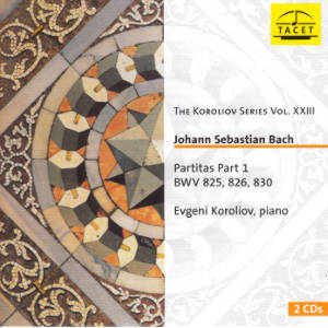 The Koroliov Series Vol. XXIII, Johann Sebastian Bach, Partitas Part 1