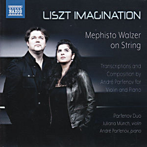 Liszt Imagination, Mephisto Walzer on String