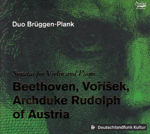 Sonatas for Violin and Piano, Beethoven, Voříšek, Archduke Rudolph of Austria