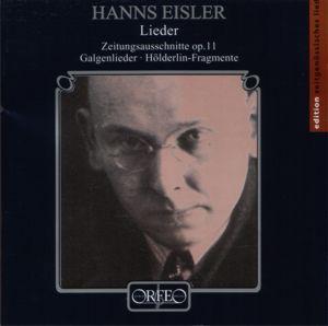Hanns Eisler<br />Lieder