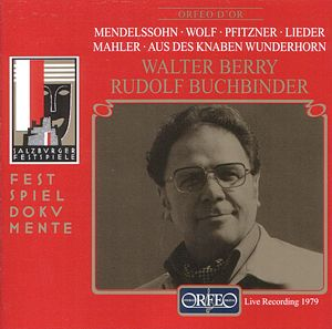 Walter Berry Lieder / Orfeo