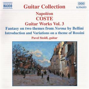 Coste – Guitar Works Vol. 3 / Naxos