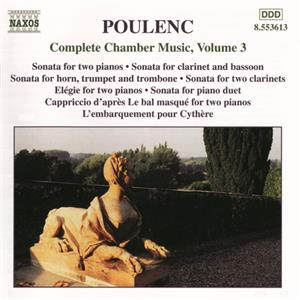 Poulenc, Complete Chamber Music Vol. 3 / Naxos