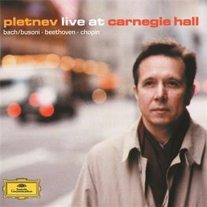 Pletnev live at Carnegie Hall / DG