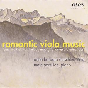 Romantic Viola Music / Claves