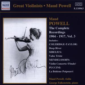 Maud Powell - The Complete Recordings 1904-1917, Vol. 3