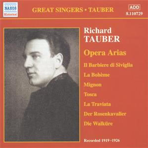 Great Singers • Tauber<br />Opera Arias, Volume 1