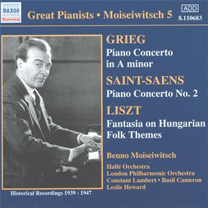 Great Pianists – Moiseiwitsch 5