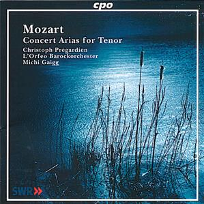Mozart Concert Arias for Tenor / cpo