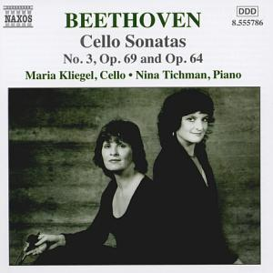 Ludwig van Beethoven Music for Cello and Piano, Vol. 2 / Naxos